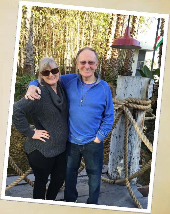 Roger Allen and wife, Karen